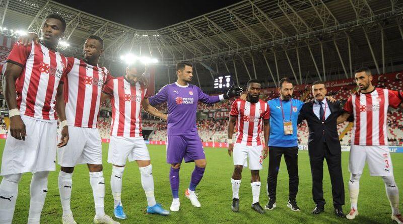 Sivasspor'dan Sahasında Dört Dörtlük Galibiyet